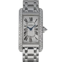 Cartier Tank Américaine White gold 19mm White Roman numerals United States of America, Maryland, Baltimore, MD