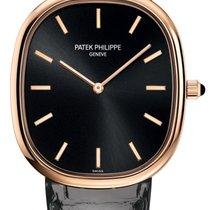 Patek Philippe Rose gold Automatic Black 34.5mm new Golden Ellipse