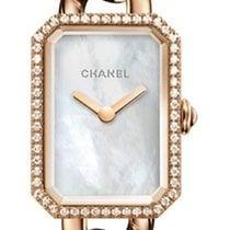 Chanel Or rouge Quartz Nacre Sans chiffres 22mm nouveau Première