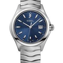 Ebel 1216238 Wave in Steel with Bezel - on Steel Bracelet with...