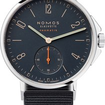 NOMOS Ahoi Neomatik Steel 36.3mm Blue United States of America, New York, Airmont