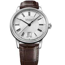 Louis Erard HERITAGE CLASSIC Date Brown Leather 40mm 69266AA21...