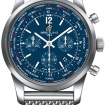 Breitling Transocean Unitime Pilot Steel Blue United States of America, New York, Brooklyn
