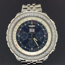 Breitling Bentley 6.75 pre-owned 48mm Blue Chronograph Date Tachymeter Steel