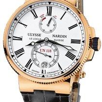 Ulysse Nardin Marine Chronometer Manufacture 1186-122/40 2019 new