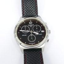 Tissot T-Classic PR100 Black & Red Chronograph T049417A