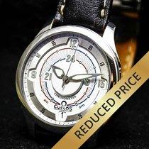 Cyclos Chronometer A.M & P.M. Day & Night Dark Stahl (39 MM)