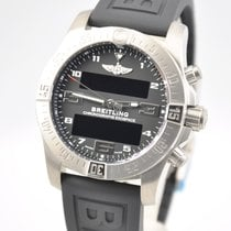 브라이틀링,새 시계/미 사용,정품 박스 있음, 서류 원본 있음,46 mm,티타늄