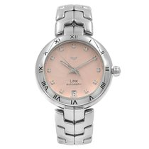 TAG Heuer Link Lady Steel 34mm Pink No numerals