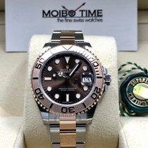 Rolex Yacht-Master 37 nuevo Automático Reloj con estuche y documentos originales 268621