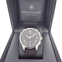 Victorinox Swiss Army new Quartz Small Seconds 42mm Steel Sapphire Glass