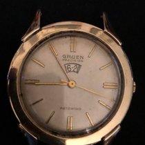 Gruen Precision 14k Gold plated bezel, stainless steel back,...