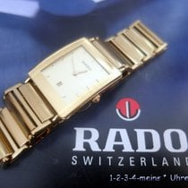 Rado Integral Steel 24mm Gold No numerals