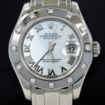 Rolex Lady-Datejust Pearlmaster 80319 подержанные