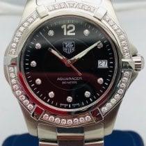 TAG Heuer Aquaracer 300M Steel 38mm Black No numerals United States of America, New York, New York