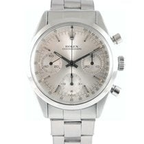 Rolex Chronograph Staal 36mm Zilver