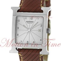 Hermès Heure H Steel 30.5mm Silver Arabic numerals United States of America, New York, New York