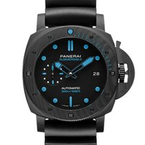Panerai Carbon Automatic Black 42mm new Luminor Submersible