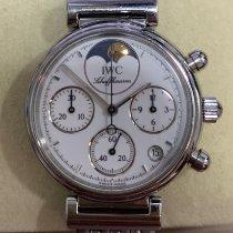 IWC Da Vinci Chronograph Steel 29mm White No numerals