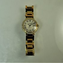 Cartier Ballon Bleu 36mm Yellow gold 36mm Silver Roman numerals United States of America, Illinois, Chicago