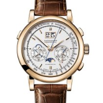 A. Lange & Söhne Rose gold Manual winding Silver 41mm new Datograph