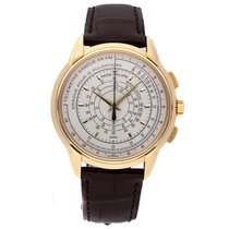 Patek Philippe Chronograph Yellow gold 40mm Silver United States of America, New York, NYC