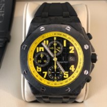 Audemars Piguet Royal Oak Offshore Chronograph Carbone 42mm Noir Arabes France, Paris