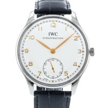 IWC Portuguese Hand-Wound Steel 44mm Silver United States of America, Georgia, Atlanta