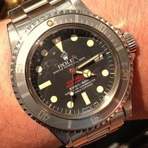 Rolex Sea-Dweller Steel 40mm Red No numerals