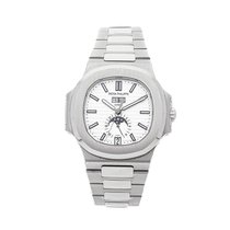 Patek Philippe Nautilus Steel 40.5mm Silver No numerals United States of America, Pennsylvania, Bala Cynwyd