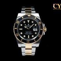 Rolex Submariner Date Gold/Steel 40mm Black No numerals Malaysia, Kuala Lumpur