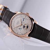 Parmigiani Fleurier Tonda Rose gold 40mm White No numerals United States of America, New Jersey, Princeton