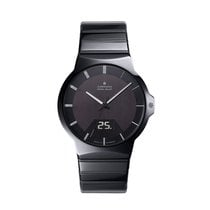Junghans Force Mega Solar Ceramika 40.4mm Czarny Arabskie