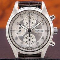 IWC Pilot Spitfire Chronograph Steel 42mm Silver Arabic numerals United States of America, Massachusetts, Boston