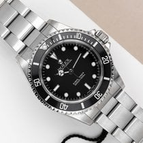 Rolex Submariner (No Date) Ατσάλι 40mm Μαύρο