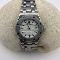 Audemars Piguet Royal Oak Lady pre-owned 33mmmm White Date Steel