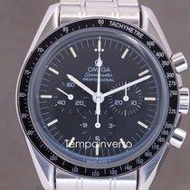 Omega Speedmaster Steel 42mm Black No numerals