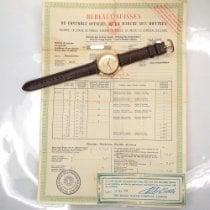 롤렉스 Oyster Perpetual 옐로우골드 34mm 샴페인색 숫자없음