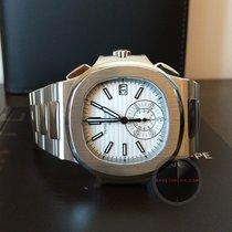 百達翡麗 (Patek Philippe) 5980/1A Nautilus Chronograph White Dial