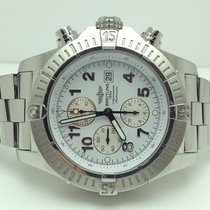 Breitling Super Avenger Steel 48mm White Arabic numerals United States of America, New York, Greenvale