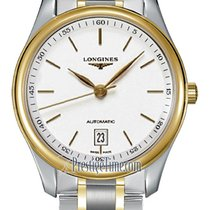Longines Master Collection Gold/Steel 38.5mm White United States of America, New York, Airmont