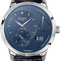 Glashütte Original PanoReserve Steel 40mm Blue United States of America, New York, Airmont