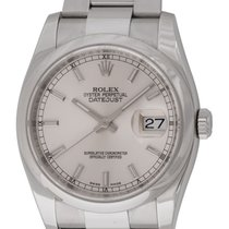 Rolex : Datejust 36mm :  116200 :  Stainless Steel : silver...