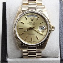 Rolex President 18038 Day Date 18K Yellow Gold 36MM Champagne...