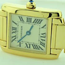 Cartier W50002N2 Yellow gold Tank Française 20mm pre-owned United States of America, New York, Greenvale