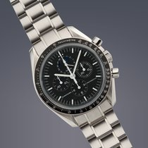 Omega Speedmaster Moonwatch stainless steel manual Moonphase...