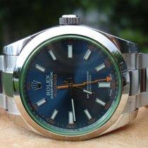Rolex Milgauss 116400 Blue Dial