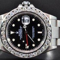Rolex Diamond Rolex Watch Explorer II Black Dial Stainless...