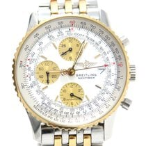 Breitling Navitimer Old, Gold and Steel D13322