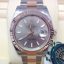 Rolex Datejust II Gold/Steel 41mm Silver No numerals United Kingdom, Wilmslow